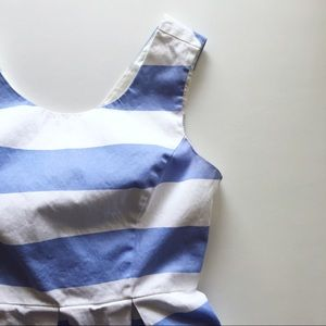 F21 Blue and White Striped Dress